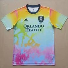 21-22 Orlando City Training Shirts Jersey 奥兰多城