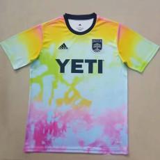 21-22 AUstin FC Training shirts r Jersey 奥斯汀