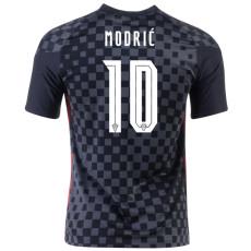MODRIĆ # 10 Croatia 1:1 Away Fans Soccer Jersey 2020