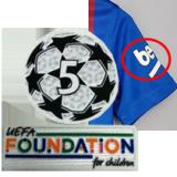 21-22 BAR Home Player Version Soccer Jersey