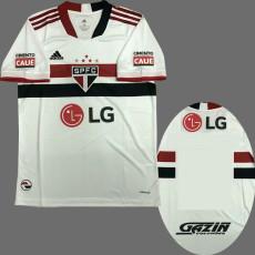 21-22 Sao Paulo 1:1 Home ALL Sponsor Fans Soccer Jersey(全广告 LG)
