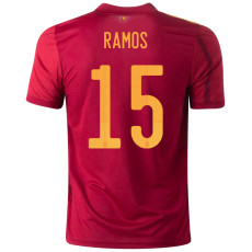 RAMOS #15 Spain Home 1:1 Fans Soccer Jersey 2020
