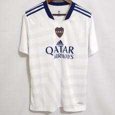 21-22 Boca Juniors White Fans Soccer Jersey