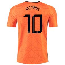 MEMPHIS #10 Netherlands Home 1:1 Soccer Jersey 2020