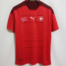 2020 Switzerland Home Fans Soccer Jersey