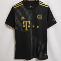21-22 Bayern 1:1 Away Black Fans Soccer Jersey