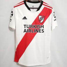 21-22 River Plate White Fans Soccer Jersey