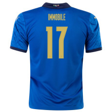 IMMOBILEI #17 Italy Home 1:1 Fans Soccer Jersey 2020