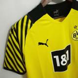 21-22 Dortmund Home 1:1 Fans Soccer Jersey