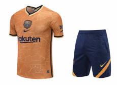 21-22 BAR  Orange Training Short Suit