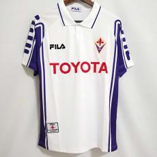 1999-2000 Fiorentina Away Retro Soccer Jersey