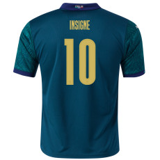 INSIGNE #10 Italy 1:1 Third Fans Soccer Jersey2020