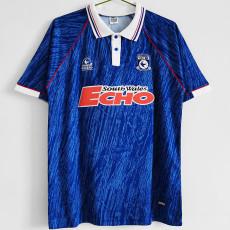 1990 Cardiff City Home Retro Soccer Jersey
