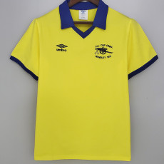 1979  ARS Yellow Retro Soccer Jersey