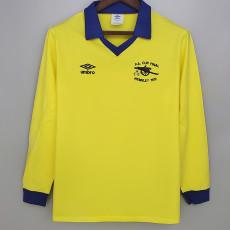1979 ARS Yellow Long Sleeve Retro Soccer Jersey