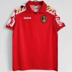 1995 Belgium Home Retro Soccer Jersey