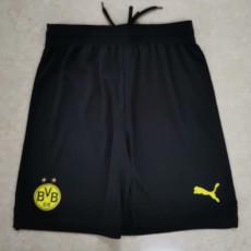 21-22 Dortmund Black Shorts Pants