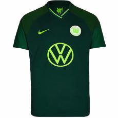 21-22 Wolfsburg Away Fans Soccer Jersey