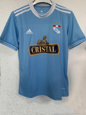 21-22 Sporting Cristal Home Fans Soccer Jersey(水晶体育)