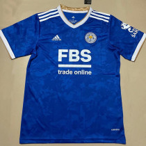 21-22 Leicester City Home Fans Soccer Jersey