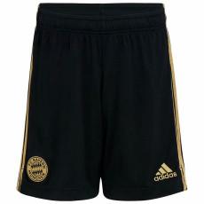 21-22 Bayern Away Black Shorts Pants