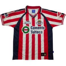 1999-2000 Chivas Home Retro Soccer Jersey