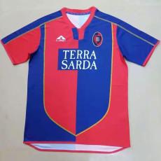 2004-2005 Cagliari Home Retro Soccer Jersey
