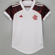 21-22 Flamengo Away Women Soccer Jersey