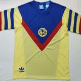 1987 Club America Home Retro Soccer Jersey