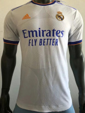 21-22 RMA Home Player Version Soccer Jersey