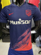 21-22 ATM Away Player Version Soccer Jersey