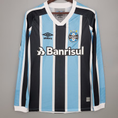 21-22 Gremio Home  Long Sleeve  Soccer Jersey