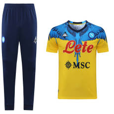 21-22 Napoli  Yellow Short-sleeved  trousers suit