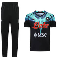 21-22 Napoli  Black Short-sleeved trousers suit