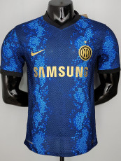 21-22 INT Home Player Version Soccer Jersey