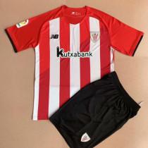 21-22 Bilbao Home Kids Soccer Jersey