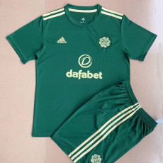 21-22 Celtic Away Green Kids Soccer Jersey