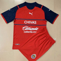 21-22 Chivas Red Kids Soccer Jersey