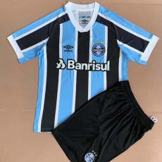 21-22 Gremio Home Kids Soccer Jersey