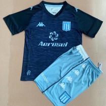 21-22 Atletico Argentina Away Kids Soccer Jersey