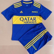 21-22 Boca Juniors Home Kids Soccer Jersey