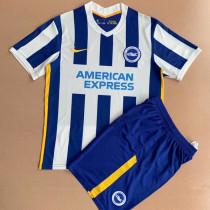 21-22 Brighton home Kids Soccer Jersey