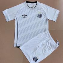 21-22 Santos Away Kids Soccer Jersey