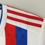 21-22 Lyon Home Fans Soccer Jersey