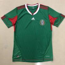 2010 Mexico Home Retro Soccer Jersey