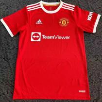 21-22 Man Utd Home Fans  Soccer Jersey