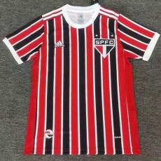 21-22 Sao Paulo Away Fans Soccer Jersey