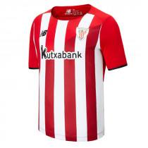21-22 Bilbao Home Fans Soccer Jersey