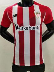 21-22 Bilbao Home Player Version Soccer Jersey