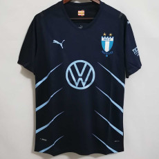 21-22 Malmo Away Fans Soccer Jersey